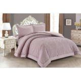 Lilian Mauve Comforter Set