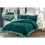 Liz Velvet Deep Lake Comforter Set