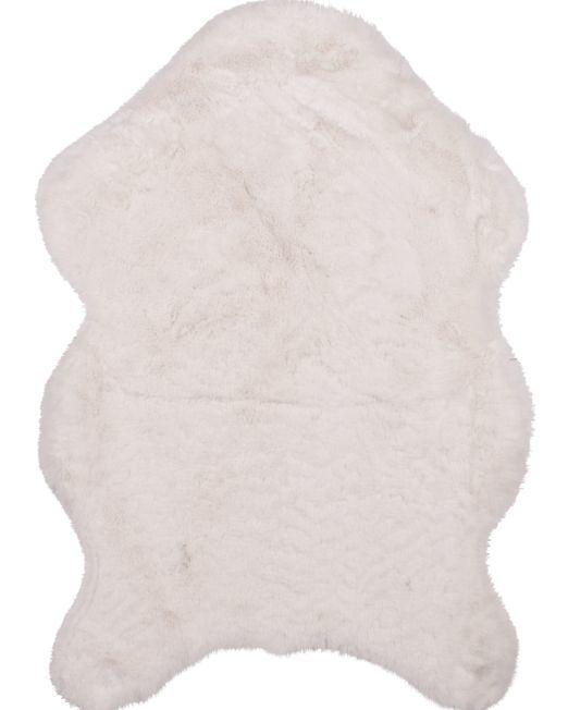 985727 Lapin Rug 2 Tone Ivory 60x90cm_2