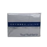 Thermal Flannel Sheet Set Pale