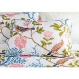 Vintage Pillowcase Pinsonic Stitch Nightingale 2pc
