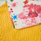 Vintage Quilt Pinsonic Stitch Watercolour Spring